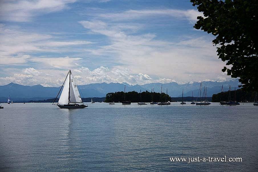 IMG 7260 - Jezioro Starnberg i Ludwig Szalony