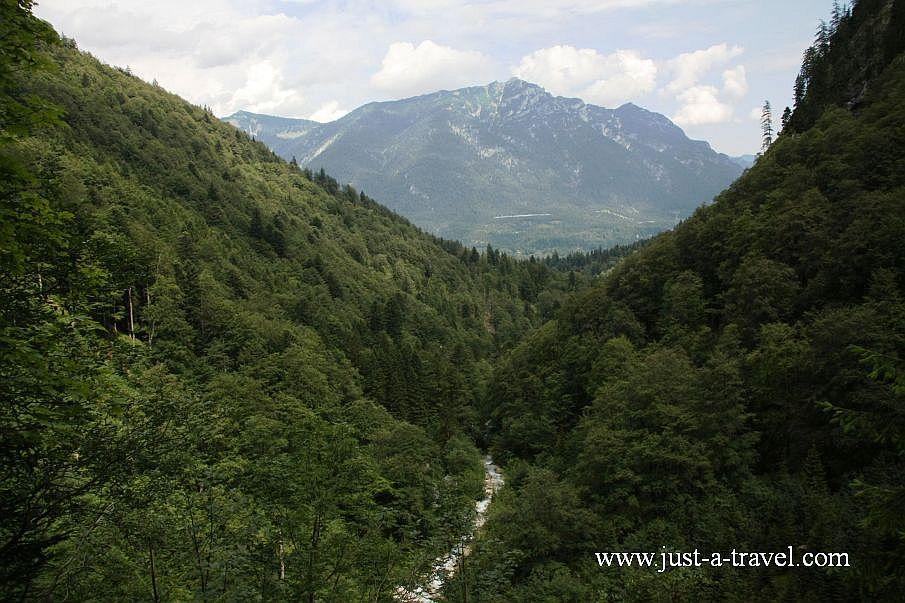Dolina Höhlentalklamm