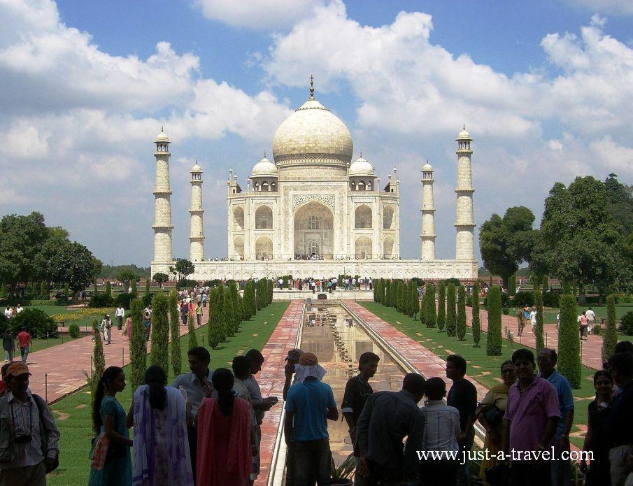 TajMahal - Wspomnienia z podróży do Indii