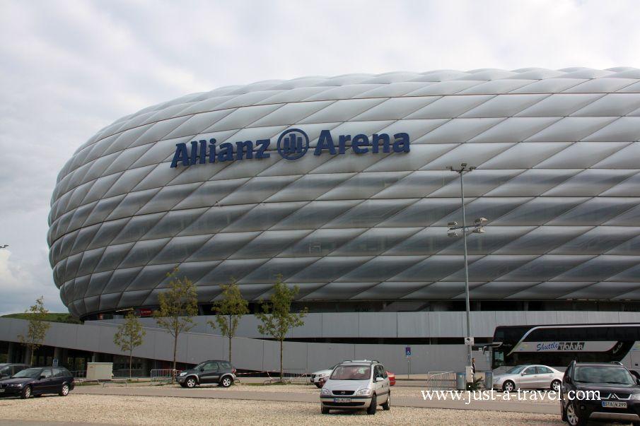 arena 1 - Atrakcje w Monachium