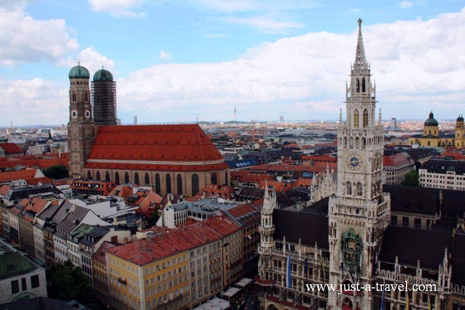 monachium 1 - Atrakcje w Monachium