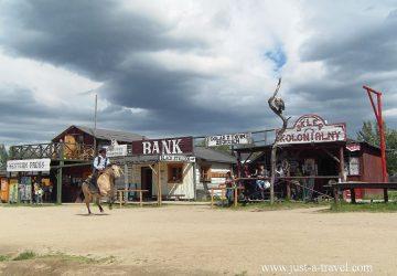 W miasteczku Western City w Karpaczu
