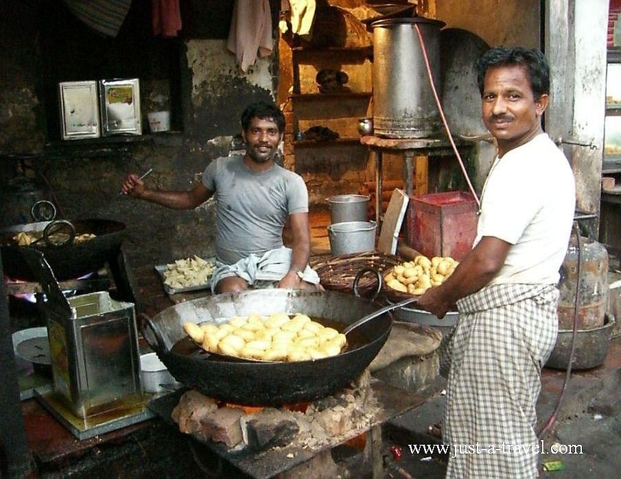 1.kuchnia polowa 1 - Zdjęcia z Indii