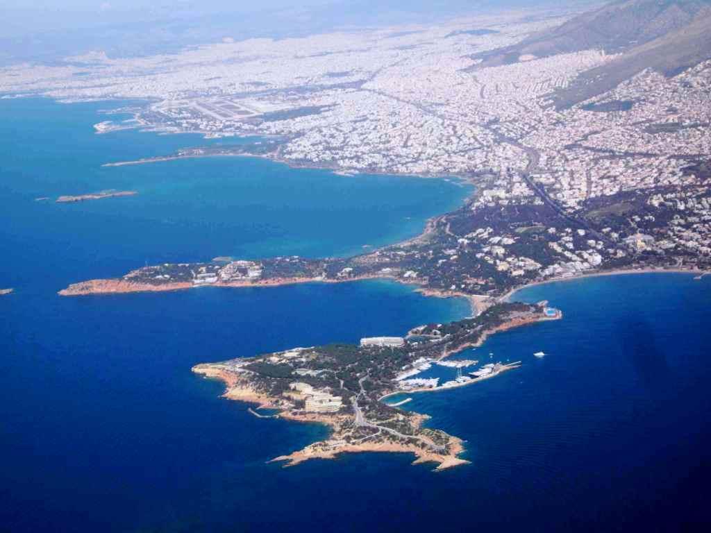 Typowa linia brzegowa Grecji