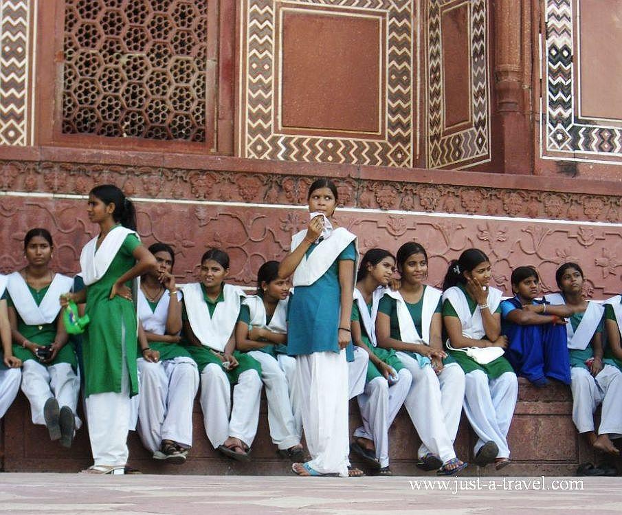 5.dziewczynki 1 - Zdjęcia z Indii