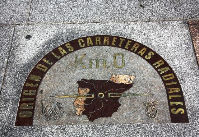 Kilometr 0 w Madrycie