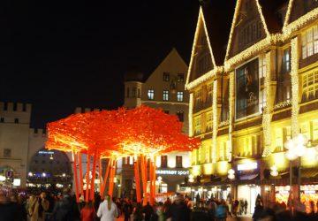 Świąteczne Jarmarki Monachium, deptak pomiędzy Marienplatz a Karlsplatz