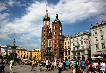 Kraków, Rynek i Kościół Mariacki w Krakowie