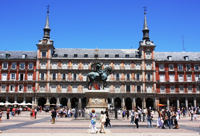 Plaza Mayor w Madrycie