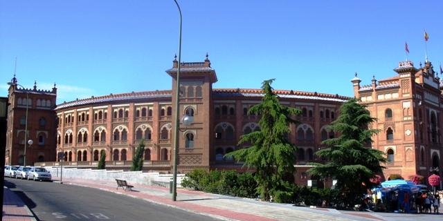 Plaza de Toros de Las Ventas w Madrycie