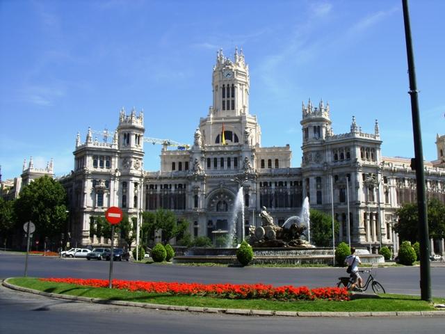 Budynek poczty w Madrycie