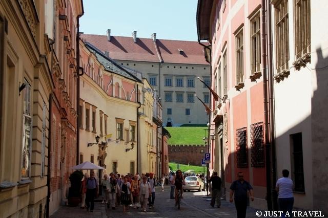Ulica Kanoniczna w Krakowie