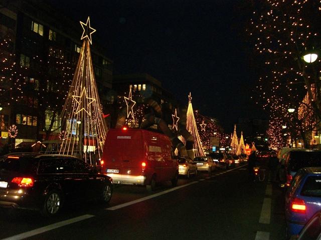 Kudam - jedna z głównych ulic zachodniego Berlina