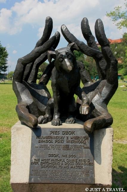 Pomnik wiernego psa Dżoka