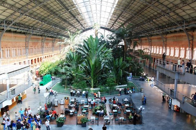Estación de Atocha, dworzec kolejowy