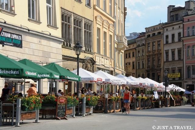 Ogródki piwne na krakowskim Rynku