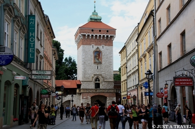Brama Floriańska w Krakowie