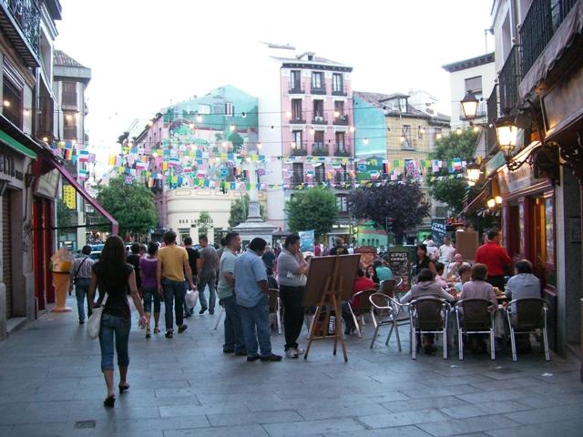 La Latina, rozrywkowa dzielnica Madrytu