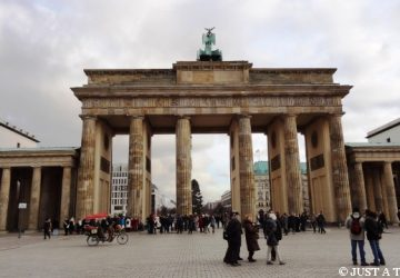 Spacer po Berlinie i Brama Brandenburska w Berlinie