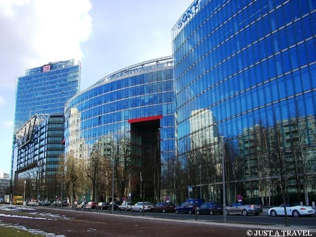 Potsdamer Platz i Sony Center
