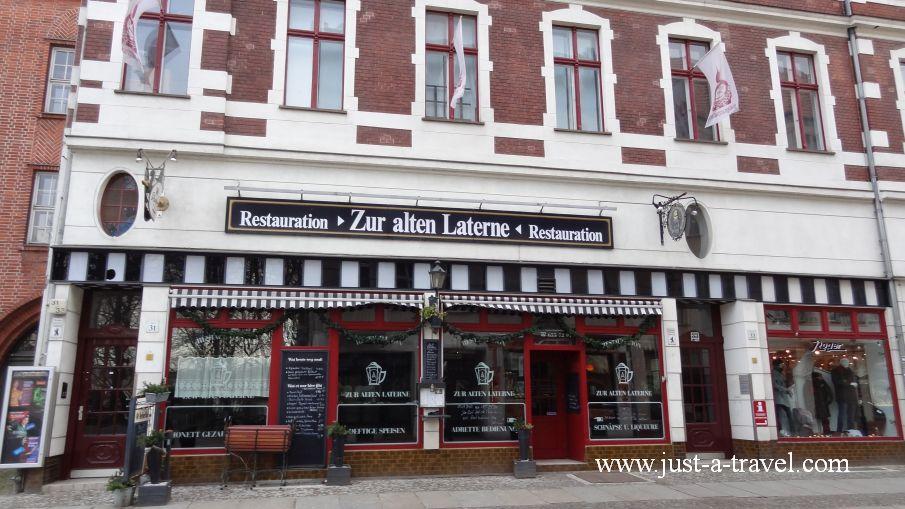 Restauration zur Laterne - Berlin Köpenick i jego kapitan