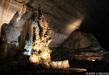 W jaskini Cacahuamilpa w Meksyku