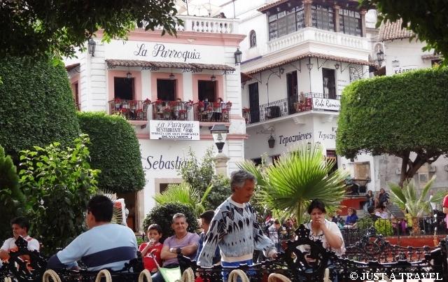 Główny plac Taxco