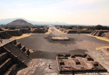 Teotihuacan, Avenida de los Muertos Teotihuacan, Meksyk
