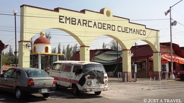 Embarcadero Cuemanco w Xochimilco