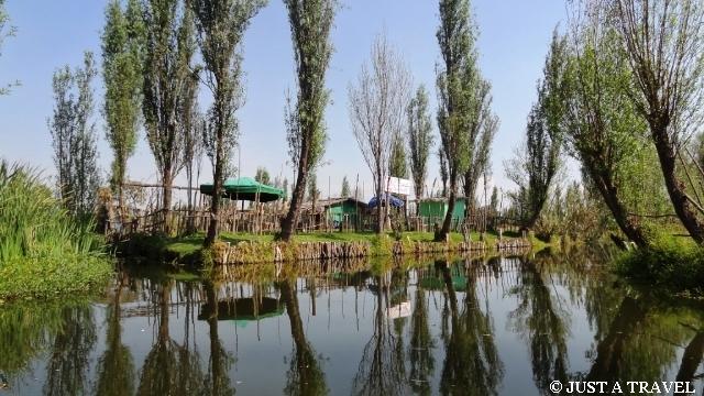 Poletko chinampa w Xochicalco
