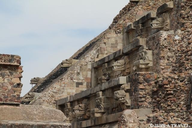 Templo de Quetzalcoatl Teotihuacan