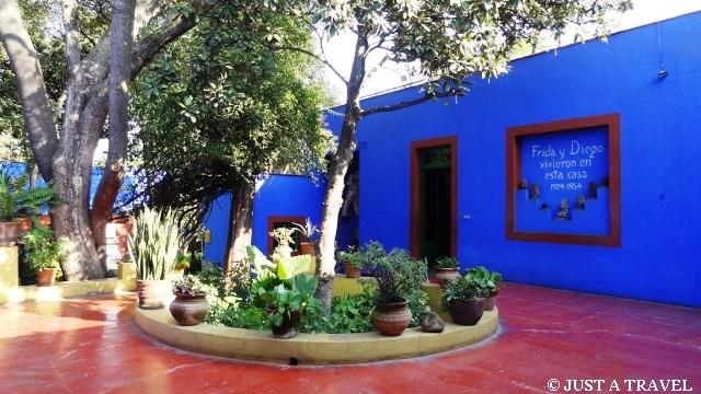 dziedziniec casa azul
