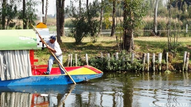 flisak z Xochimilco