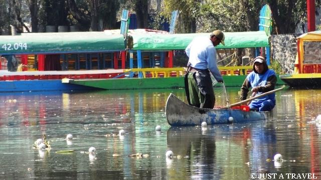 rybacy z Xochimilco