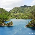 Kolorowe jeziora w Chiapas