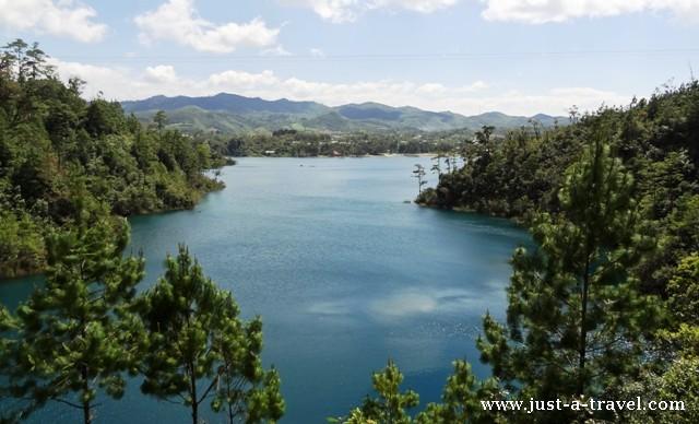Lago Tziscao Lagunas de Montebello