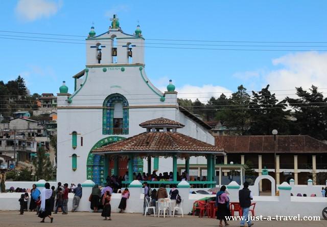 San Juan Chamula, Kościół