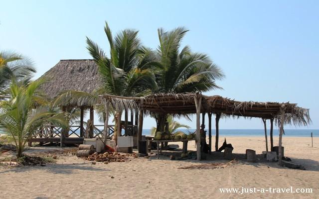 Chata na plaży La Ventanilla