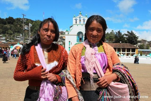 Indianki z Chamula