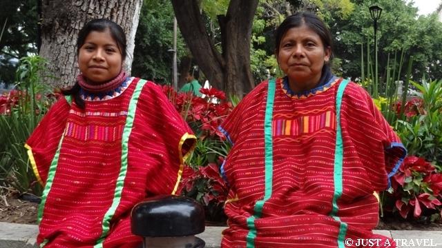 indiańskie stroje z Oaxaca