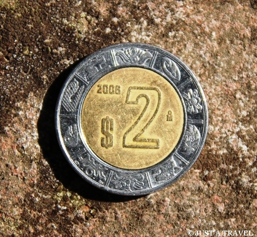 Dwa peso Meksykańskie peso