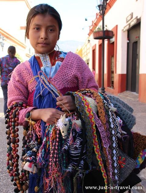 Dziewczynka z Chiapas