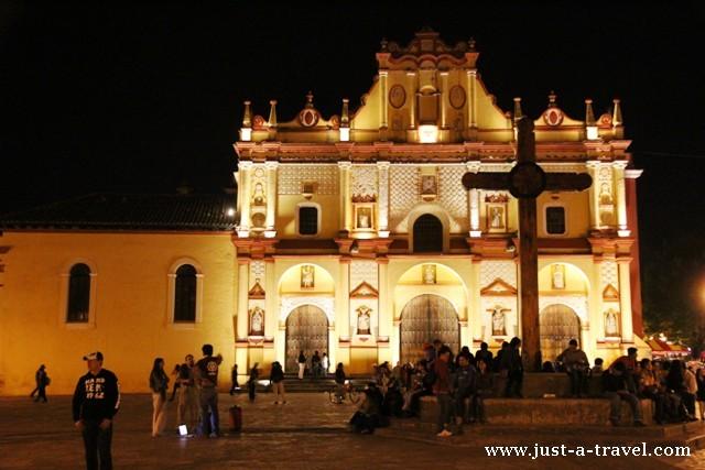 Katedra w San Cristobal de las Casas