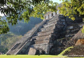 Piramidy Palenque, Templo de las Inscriptiones