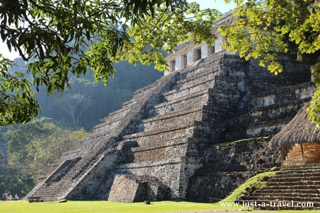 Piramidy Palenque, Templo de las Inscriptiones