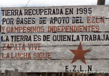 Zapatyści z Chiapas, Meksyk
