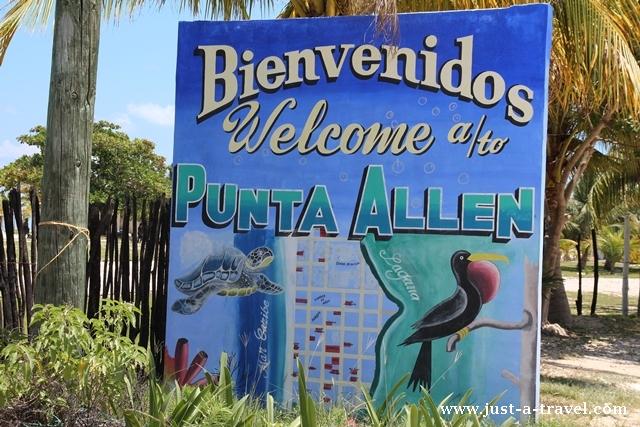 Bienvenidos a Punta Allen