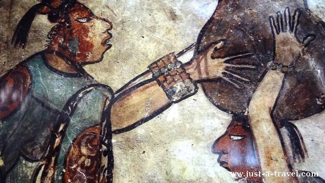 Mural z Calakmul