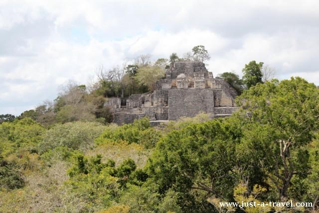 Struktura II Calakmul
