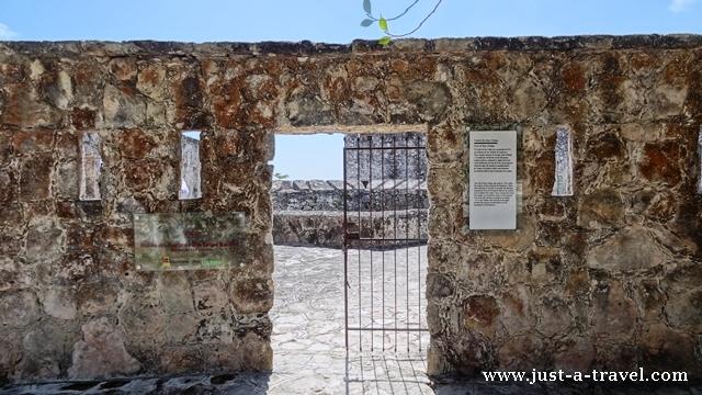 Wejście do twierdzy de San Felipe